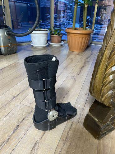 Бандаж на ногу вместо гипса- очень удобно и эффективно помогает