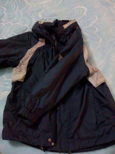 Decija jakna suskava veličina 104 sa kapuljačom spakovanom u kragnu. - Subotica