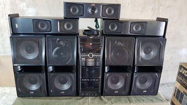 автомагнитофон jvc в Кыргызстан: Музыкальный центр JVC  состояние на 5+