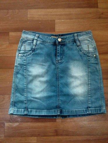 Юбочка джинсовая, отличное состояние, носили мало в Бишкек