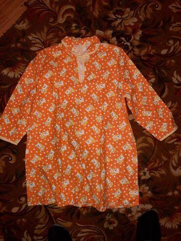 Домашние костюмы - Кыргызстан: Продаю: девочковые теплые фланелевые и ситцевые сорочки 34 р