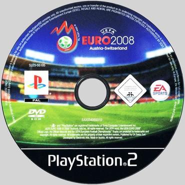PS2 & PS1 (Sony PlayStation 2 & 1) Azərbaycanda: UEFA EURO-2008.Ps2 üçün.Yenidir