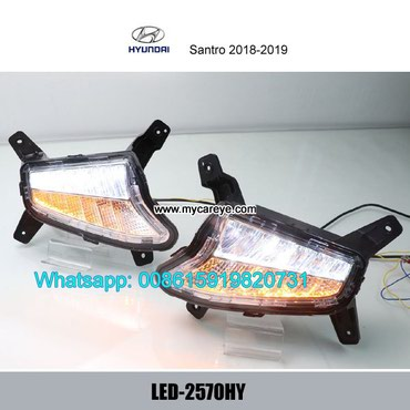 Hyundai Santro DRL LED Daytime Running Lights autobody parts in Tīkapur
