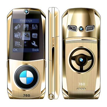 сотовый телефон флай раскладушка в Азербайджан: BMW TELEFONU 760 Mosthink W760 автомобиль форма флип маленький мобильн