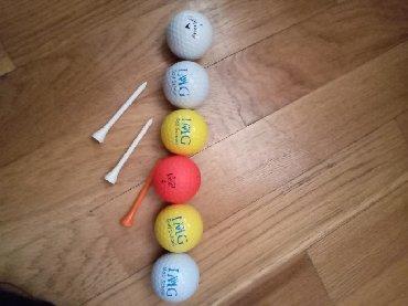 golf 3 - Azərbaycan: Golf ücün toplar 1ədədi- 2.5azn