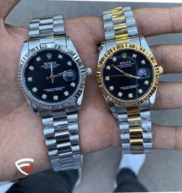 chasy rolex mehanika в Кыргызстан: Белые Унисекс Наручные часы Rolex