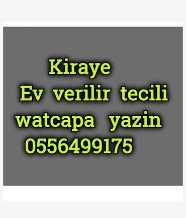 Bakı şəhərində Yasamal ev axtariram kiraye 370 azn watcapa yazin