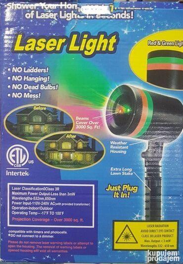 Laser Light za kucu Laser za kucu i dvoriste Projektor laserZvezdani