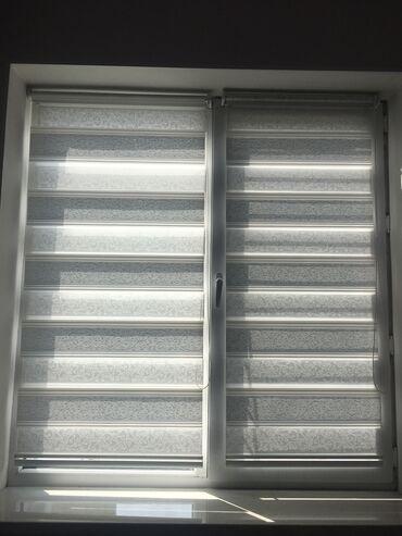 Продаю ролл шторы, цвет белый/серебро с блестками. Размер 1,5*0,62