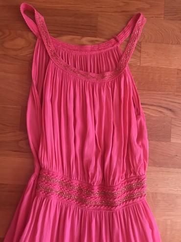 Pink lepa letnja haljina. Prijatan materijal cena samo 600 dinara. - Novi Sad