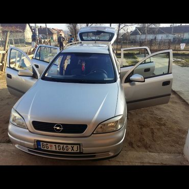 Auto mehanicar - Srbija: Opel Astra 1.7 l. 2001   17000 km