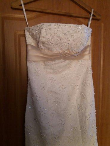 Платье свадебное  размер m в Лебединовка
