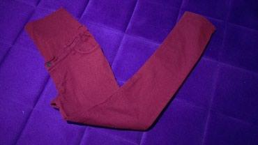 Pantalone-trudnicke - Srbija: Trudnicke pantalone. Velicina 38, sa elastinom, bez ostecenja
