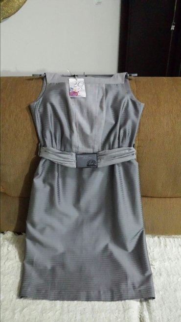 Nova haljina od satena, ps, veličina 38, dužina 100cm, struk 76cm, - Velika Plana
