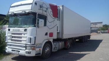 Рефрижератор бу купить - Кыргызстан: Scania 164L грузовой седельный тягач, 2002 г.в. и Samro S338FH