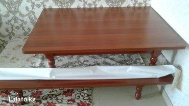 Новый стол,размер общий 3. 5,если по в Бишкек
