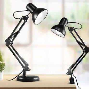 fotopolimernaja lampa besprovodnaja в Кыргызстан: Настольная лампа на струбцине и настольной подставке. Цвет - черный