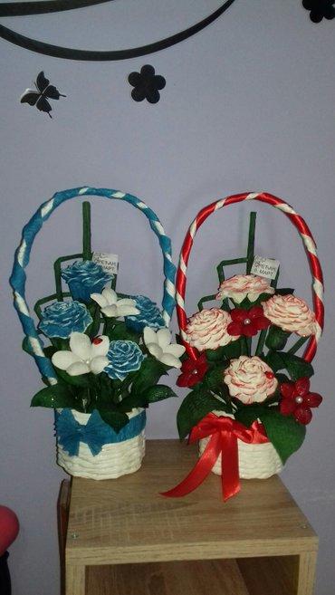 Osmomartovske korpice sa cvećem - Krusevac