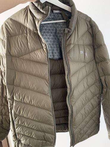 Куртка: Puma Цвет: хаки Размер: L Состояние: отличное