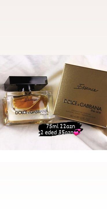 - Azərbaycan: Dolce Gabbana The one