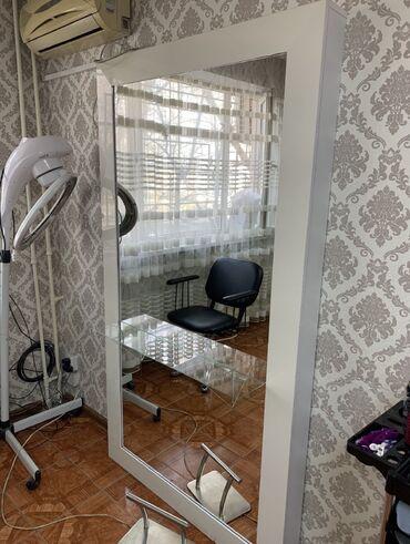 Декор для дома в Кыргызстан: Продаю зеркало высота 2м/ширина 1.10  Пользовались 2месяцасделано на