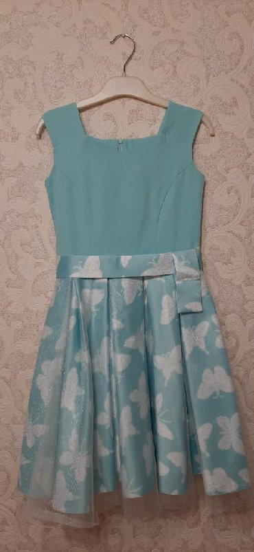 plate na 10 11 let в Кыргызстан: Платье для девочки,на 10-11 лет,размер 40,с подкладом