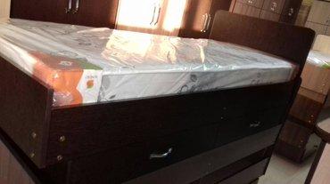 Кровать одно спальный новая цена + доставкой в Бишкек