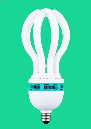 инверторы для солнечных батарей 80 500 в Кыргызстан: Лампа светильник.Энергосберегающая большущая в форме лотоса имеет