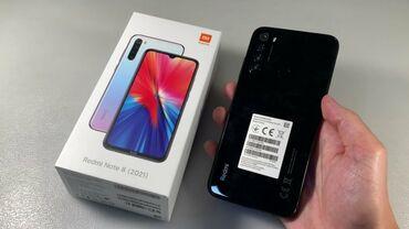 Xiaomi Redmi Note 8   8 ГБ   Черный   Отпечаток пальца, Две SIM карты, Face ID