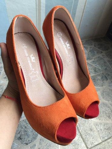 NOVE narandzaste cipele u broju 36 😃😃 - Pirot