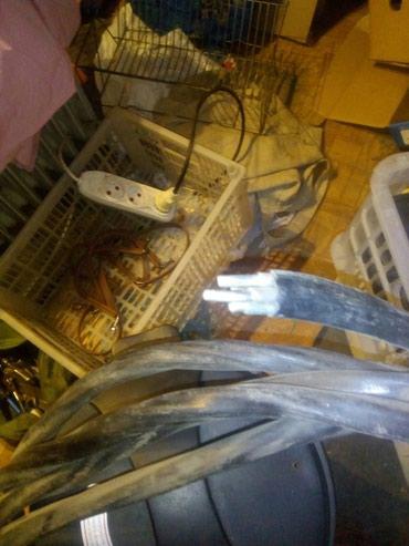 Силовой кабель. 8-10 м. четырехжильный, алюминий. в Бишкек