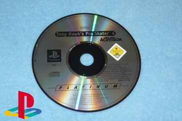 PlayStation 1 One - TONY HAWK'S PRO SKATER 4 - Kucevo