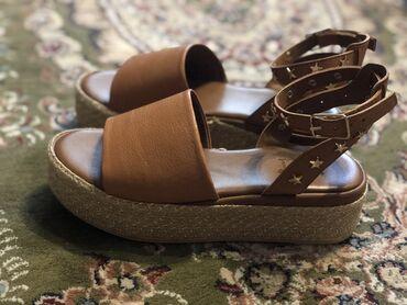 Продаю летние кожаные босоножки размер 38,подойдёт на широкую стопу