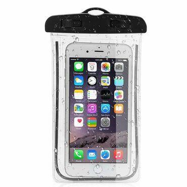 Водонепроницаемый чехол предназначен для смартфонов с диагональю