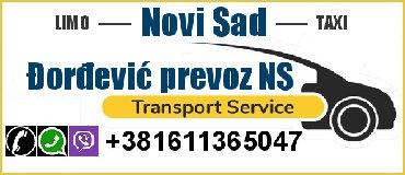 Taxi Novi Sad - Šajkaš,Privatni najam vozila sa vozačem (do 4