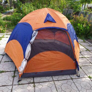 В наличии, палатка механическая сборка 2,40х2,40х1,45 Двухслойная