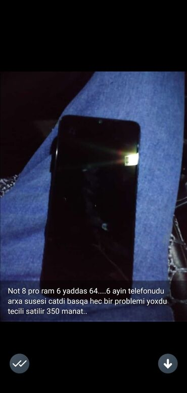 Новый Xiaomi Redmi Note 8 Pro 64 ГБ Синий