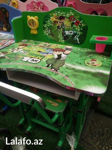 Sumqayıt şəhərində Mektebli uşaqlar üçün yazı masaları.qız oğlan her ikisi