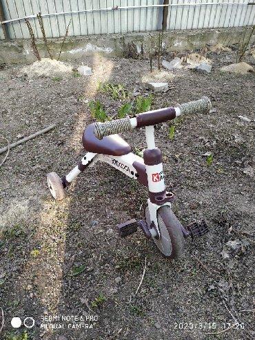 пакеты для заморозки в Кыргызстан: Трёх колесный велосипед трансформер, педали снимаются получается