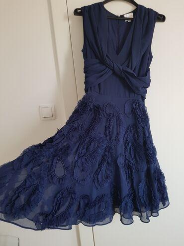 Plava svecana haljina vel. xs/s