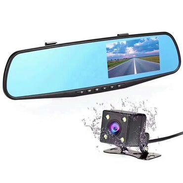 """Зеркало заднего вида L9000-4 со встроенным монитором 4.3"""" и"""