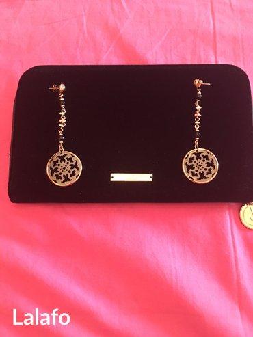 Προσωπικά αντικείμενα - Ελλαδα: Αυθεντικα oxette σκουλαρικια μαυρο με χρυσο!!! Τιμη ευκαιριας!!!