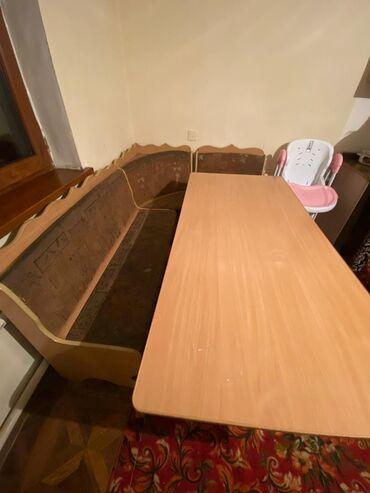 уголок для кухни в Кыргызстан: Продаю кухонный уголок со столом!Состояние хорошее!Срочно!!!