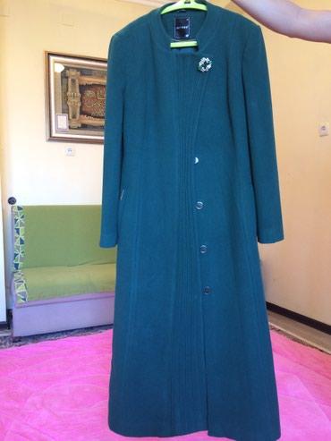 Пальто турецкое цвет изумрудный в Бишкек