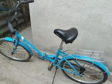 Спорт и хобби - Ак-Джол: Продаю велосипед Кама взрослый в хорошем состоянии, размер колёс 24