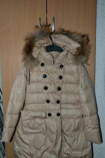 Dečije jakne i kaputi | Subotica: Nova moderna zimska jakna sa pravim krznom na kapuljaci koje se skida