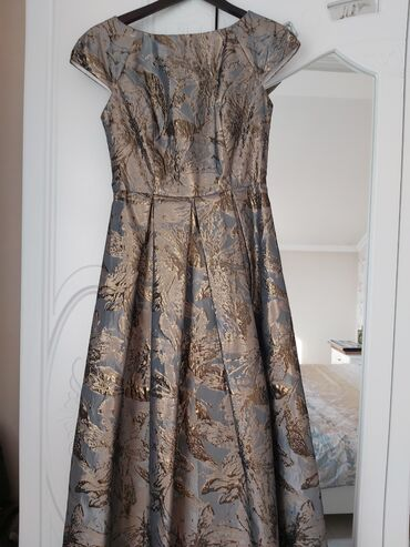 Платье, вечернее, тафта, размер 46-48, Турция