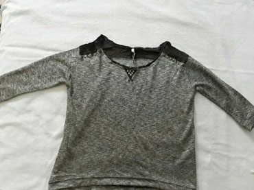 Ramena-sirina-cm - Srbija: Nova H&M, velicina SDuzina 55cm, sirina ramena 46 cm, rukavi 36 cm