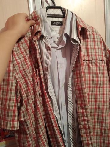 Мужские рубашки в Кыргызстан: Рубашки по 100 сом размеры 48-50