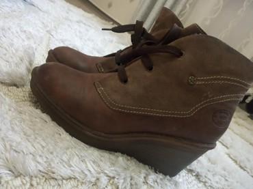 Кожаные ботинки, евро-зима. Очень качественные и удобные. размер 39